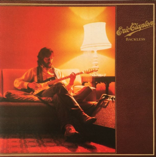 Eric Clapton ‎- Backless (LP) (VG/VG+)